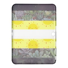 Cute Flag Samsung Galaxy Tab 4 (10 1 ) Hardshell Case  by TransPrints