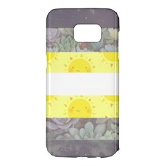 Cute Flag Samsung Galaxy S7 Edge Hardshell Case by TransPrints