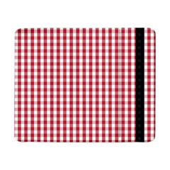 Usa Flag Red Blood Large Gingham Check Samsung Galaxy Tab Pro 8 4  Flip Case by PodArtist