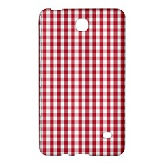 Usa Flag Red Blood Large Gingham Check Samsung Galaxy Tab 4 (8 ) Hardshell Case  by PodArtist
