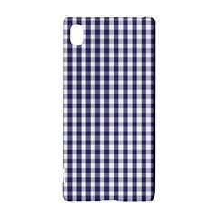 Usa Flag Blue Large Gingham Check Plaid  Sony Xperia Z3+ by PodArtist