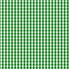 Christmas Green Velvet Large Gingham Check Plaid Pattern Magic Photo Cubes by PodArtist