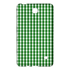 Christmas Green Velvet Large Gingham Check Plaid Pattern Samsung Galaxy Tab 4 (7 ) Hardshell Case  by PodArtist