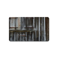 Alpine Hut Almhof Old Wood Grain Magnet (name Card) by BangZart