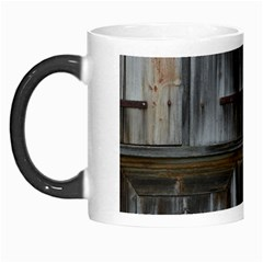 Alpine Hut Almhof Old Wood Grain Morph Mugs by BangZart
