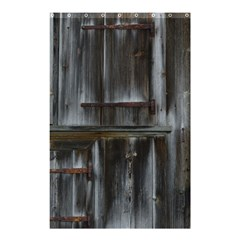 Alpine Hut Almhof Old Wood Grain Shower Curtain 48  X 72  (small)  by BangZart