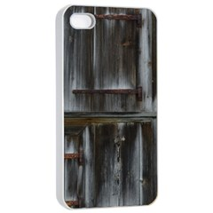 Alpine Hut Almhof Old Wood Grain Apple Iphone 4/4s Seamless Case (white) by BangZart