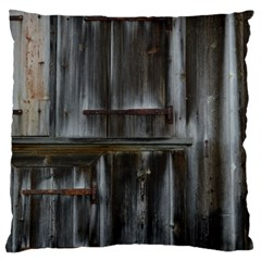 Alpine Hut Almhof Old Wood Grain Large Cushion Case (two Sides) by BangZart