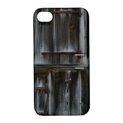 Alpine Hut Almhof Old Wood Grain Apple Iphone 4/4s Hardshell Case With Stand by BangZart