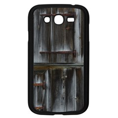 Alpine Hut Almhof Old Wood Grain Samsung Galaxy Grand Duos I9082 Case (black) by BangZart