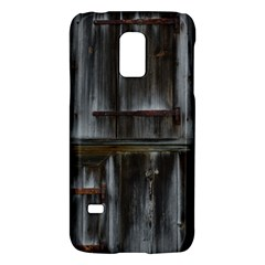 Alpine Hut Almhof Old Wood Grain Galaxy S5 Mini by BangZart