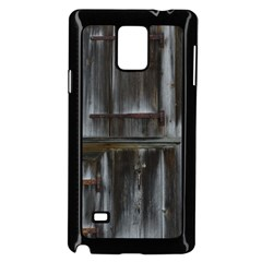 Alpine Hut Almhof Old Wood Grain Samsung Galaxy Note 4 Case (black)