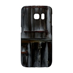 Alpine Hut Almhof Old Wood Grain Galaxy S6 Edge