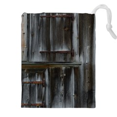 Alpine Hut Almhof Old Wood Grain Drawstring Pouches (xxl) by BangZart