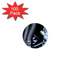 Motorcycle Details 1  Mini Magnets (100 Pack)