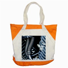 Motorcycle Details Accent Tote Bag by BangZart