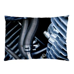 Motorcycle Details Pillow Case by BangZart