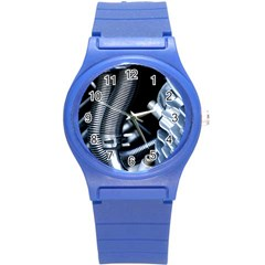 Motorcycle Details Round Plastic Sport Watch (s) by BangZart