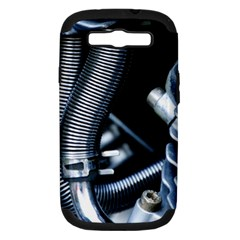 Motorcycle Details Samsung Galaxy S Iii Hardshell Case (pc+silicone) by BangZart