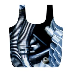 Motorcycle Details Full Print Recycle Bags (l)  by BangZart