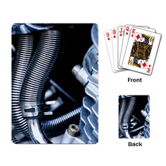 Motorcycle Details Playing Card by BangZart