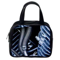 Motorcycle Details Classic Handbags (one Side)