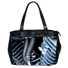 Motorcycle Details Office Handbags (2 Sides)  by BangZart