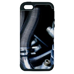 Motorcycle Details Apple Iphone 5 Hardshell Case (pc+silicone) by BangZart