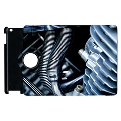 Motorcycle Details Apple Ipad 3/4 Flip 360 Case by BangZart