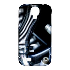 Motorcycle Details Samsung Galaxy S4 Classic Hardshell Case (pc+silicone) by BangZart