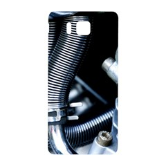 Motorcycle Details Samsung Galaxy Alpha Hardshell Back Case by BangZart