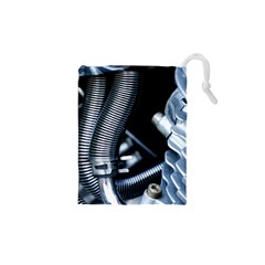 Motorcycle Details Drawstring Pouches (xs)  by BangZart