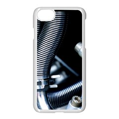 Motorcycle Details Apple Iphone 7 Seamless Case (white)