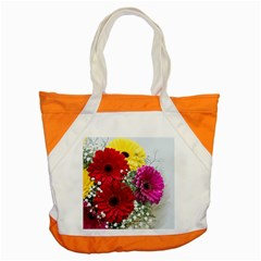 Flowers Gerbera Floral Spring Accent Tote Bag by BangZart