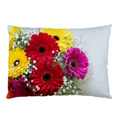 Flowers Gerbera Floral Spring Pillow Case (two Sides) by BangZart