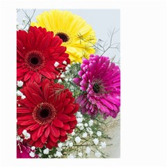 Flowers Gerbera Floral Spring Small Garden Flag (two Sides)