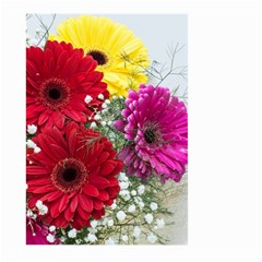 Flowers Gerbera Floral Spring Large Garden Flag (two Sides) by BangZart