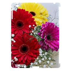 Flowers Gerbera Floral Spring Apple Ipad 3/4 Hardshell Case (compatible With Smart Cover)