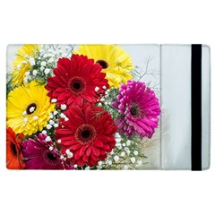 Flowers Gerbera Floral Spring Apple Ipad 2 Flip Case by BangZart