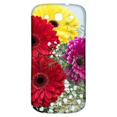 Flowers Gerbera Floral Spring Samsung Galaxy S3 S Iii Classic Hardshell Back Case