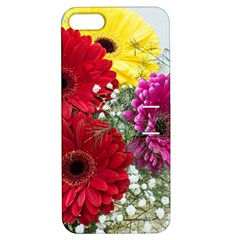 Flowers Gerbera Floral Spring Apple Iphone 5 Hardshell Case With Stand by BangZart