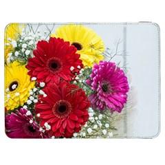 Flowers Gerbera Floral Spring Samsung Galaxy Tab 7  P1000 Flip Case by BangZart