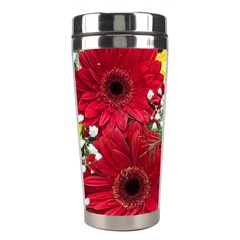Flowers Gerbera Floral Spring Stainless Steel Travel Tumblers by BangZart