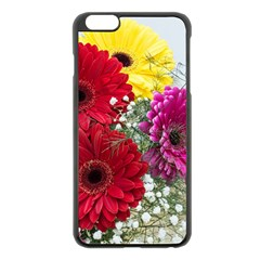 Flowers Gerbera Floral Spring Apple Iphone 6 Plus/6s Plus Black Enamel Case by BangZart