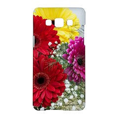 Flowers Gerbera Floral Spring Samsung Galaxy A5 Hardshell Case  by BangZart