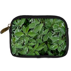 Texture Leaves Light Sun Green Digital Camera Cases by BangZart