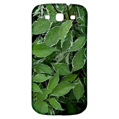 Texture Leaves Light Sun Green Samsung Galaxy S3 S Iii Classic Hardshell Back Case by BangZart