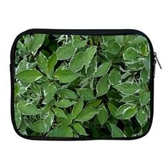 Texture Leaves Light Sun Green Apple Ipad 2/3/4 Zipper Cases by BangZart
