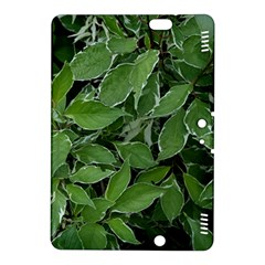 Texture Leaves Light Sun Green Kindle Fire Hdx 8 9  Hardshell Case by BangZart
