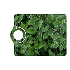 Texture Leaves Light Sun Green Kindle Fire Hd (2013) Flip 360 Case by BangZart